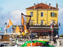 Rovinj Fishing Equipement At The Harbour