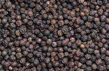 Seamless Endless Pattern Of Black Pepper Corn