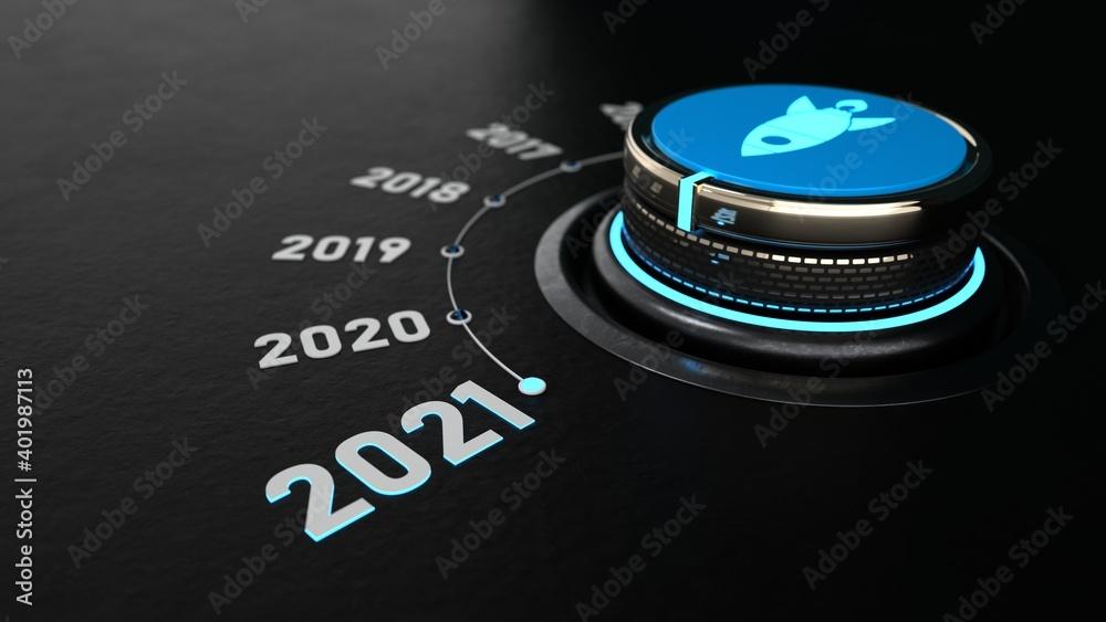 Fototapeta Control Knob 2021