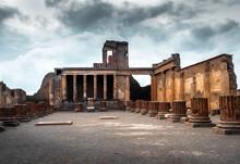 Ruins Of Ancient Roman Forum
