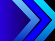 Modern geometric design abstract blue background