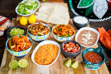 Spanish Mexican Food Preperation