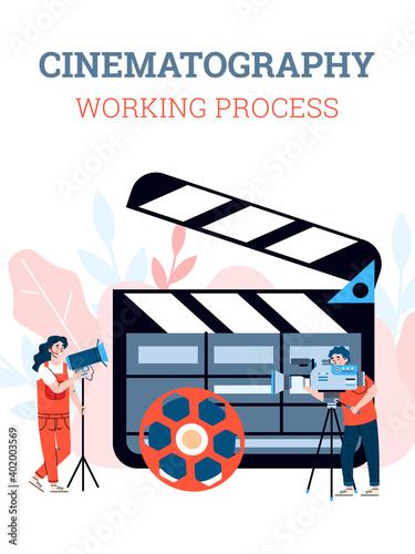 Foto Filmmaking production