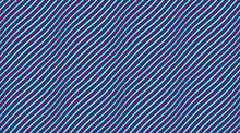 Abstract Lines Seamless Pattern With Optical Illusion, Vector Background With Parallel Stripes Op Art, Lined Design Minimalistic Wallpaper Or Website Background.
