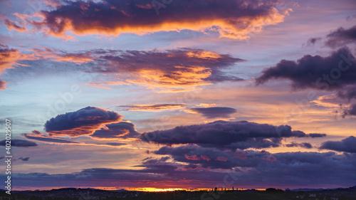 Photo cielo al alba