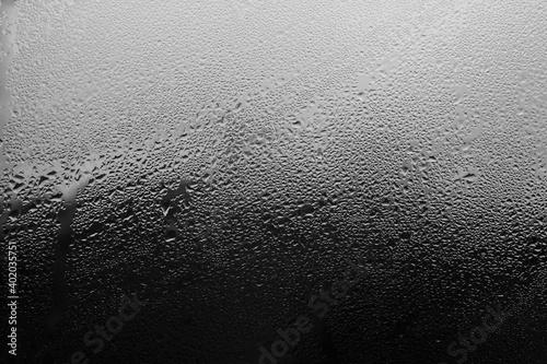 Obraz na płótnie Rain on the window