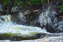 Rocky Gorge Waterfall, Kancamagus Highway, New Hampshire