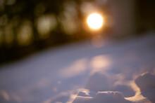 Sfondo, Background, Desktop, Sole E Neve