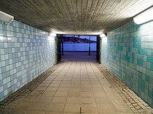 The Entrance To Gamla Stan Subway Station