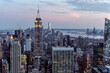 Skyline of New york city is One of the best night view in the world.