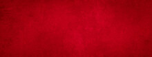 Dark Red Concrete Paper Texture Background Banner Panorama