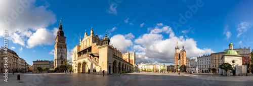 Kraków Main Square Panorama Fotobehang
