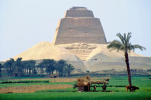 The Ancient Egyptian Pyramid Of Meidum