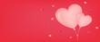 fondo san valentin - día de los enamorados tarjeta espacio para texto