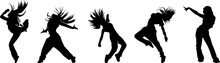 Female Urban Dancer Silhouette