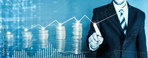 Fotografiet Kapitalanlage - Geldanlage - Investment