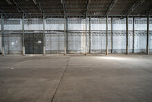 Space At Abandoned Warehouse