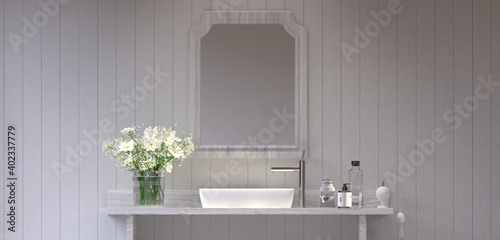 Waschbecken, Bad, Badezimmer, WC, nostalgisch, Fototapet