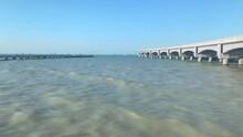 The Sea And The Port Of Progreso