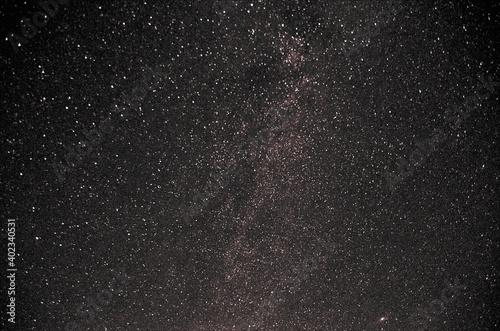 Photo Vía Láctea en la cima  cerca del Observatorio astronómico del Montsant