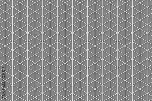 Canvastavla 六角形のシンプルな背景パターン