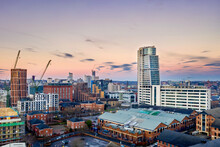 Bridgewater Place And Leeds City Centre. Yorkshire Northern England United Kingdom.