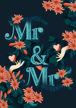 Mr And Mr Poster Banner