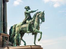 Equestrian Statue Of Austrian Military Leader Ernst Von Laudon In Vienna