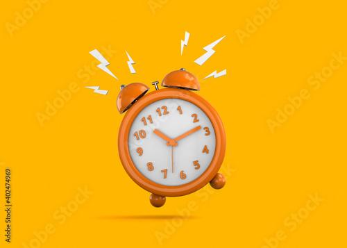 Obraz Colorfull Alarm Clock - 3D - fototapety do salonu