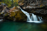 Wasserfall in Morteratsch