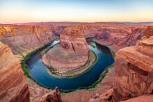 Horseshoe Bend Before Sun Rise