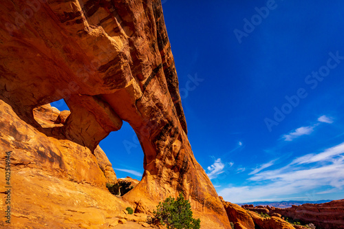 Foto Partition Arch in Arches National Park