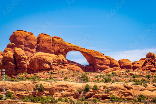 Canvas-taulu Skyline Arch in Arches National Park