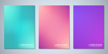 Blurred Backgrounds With A Grid Pattern For Cover Design, Brochure Layout, Book, Poster Mockup, And Flyer Template. Colorful Pattern, Vibrant Colors, Fluid Abstract, Blended Colors.