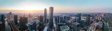 Aerial Photography Of Architectural Landscape Skyline Of Ningbo Financial District
