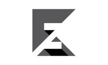 3D Letter KZ Logo