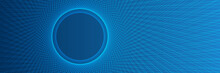 Abstract Blue Lines Technology Background