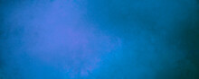 Abstract Blue Simple Universal Background With Blackouts For Banners, Web, Prints