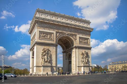 Arco de Triunfo de París - Arc de Triomphe Paris