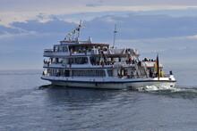 Passagierschiff Auf Dem Bodensee, Weiße Flotte, Schiff, Dampfer, Ausflugsdampfer