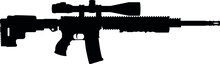 USA United States Army, United States Armed Forces, Marine Corps, Police Fully Automatic Machine Gun American Tactical Assault Rifle OMNI AR-15 Rifle, Officially AR-15 Carbine Caliber 5.56 × 45mm NATO