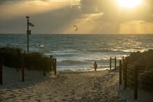 Sunset At Scarborough Beach Western Australia