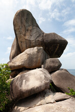 Stone Monument Of Similan National Park, Thailand
