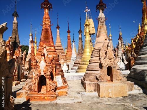 Canvas Shwe Inn Dein Pagoda, Nyaung Ohak