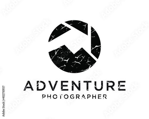Foto Landscape photography logo design inspiration