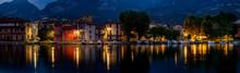 Pescarenico Notturno Sul Lago Di Como
