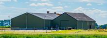 Metal Barn Building, Agricultural Industry, Zeeland, The Netherlands