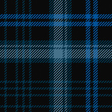 Black, Blue And Grey Tartan Plaid Pattern Background Vector Illustration