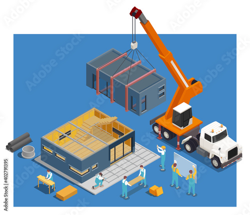 Modular Truck Construction Composition