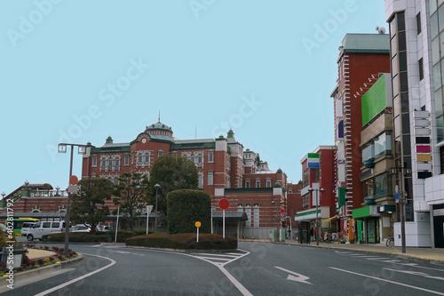 Fotografia 深谷駅ロータリーの街並/埼玉県深谷市